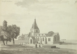Mansfield Woodhouse Church f.70